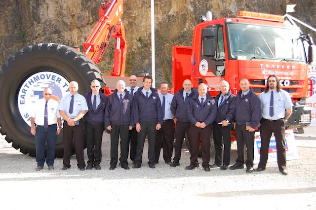Management Team at Hillhead 2012