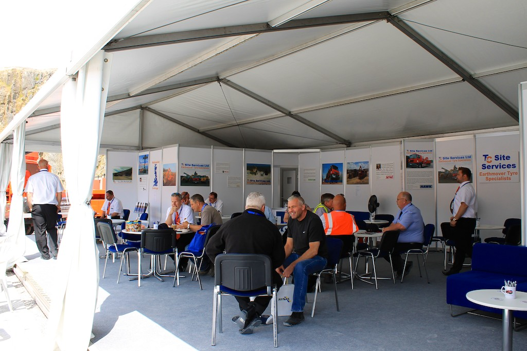 T&C Site Services reception at Hillhead 2014.