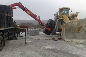Earthmover Tyre Fitting