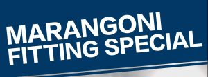 Marangoni Fitting Special Extended until end of July 2016