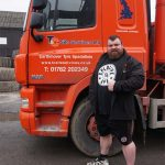 Eddie Hall with T&C Truck