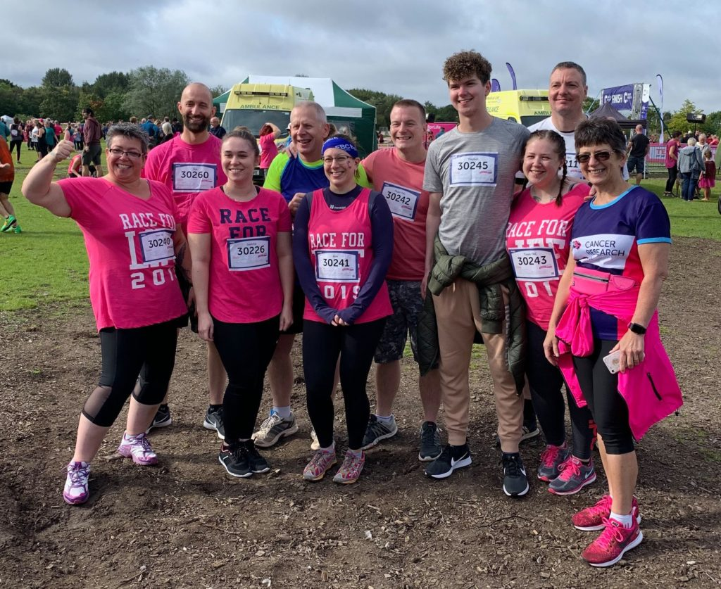 Team T&C - Cancer Research (Before) 5K Pretty Muddy